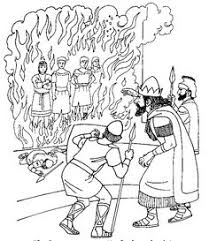 fiery furnace coloring page fiery furnace bible coloring page daniel pinterest bible