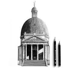 7 photorealistic architectural pencil drawings 2 draw u0026 sketch