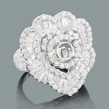 designer rings images designer diamond ring mounting 3 62ct 18k heart shaped rings