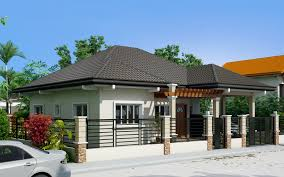 One Story Contemporary House Plans Clarissa One Story House With Elegance Pinoy Eplans Modern