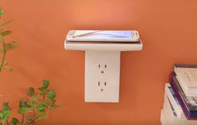 Charging Shelf Floating Intelligent Wireless Power To Charge Your Smart Tech By