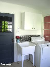 Sink In Laundry Room by Katie U0027s House Progress In The Laundry Room And A Diy Concrete