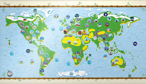 Best World Map Amazon Com Bucket List World Map Kids Affordable Gift