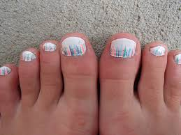 sparkly striped toe nail design youtube