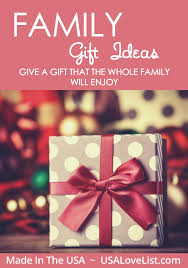 american made family gift ideas usa list