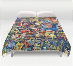 Duvet Covers For Queen Bed Ultimate Batman Vintage Queen Bedding Duvet Cover U2013 Superhero Sheets