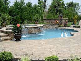 custom inground pools u0026 spas backyard pool builders