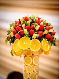 fruit centerpiece casamento pinteres