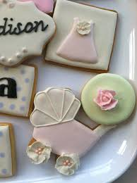 the painted pastry baby baby shower cookies