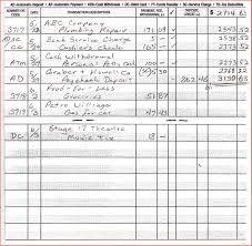 Tax Deduction Spreadsheet Template Balance Checkbook Template Virtren Com
