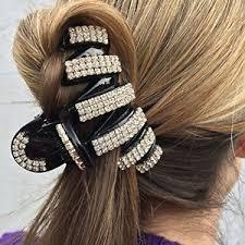 hair claw hair clip diamante hair claw clip geometric hair clip claw