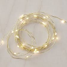 twinkle gold 50 string lights crate and barrel