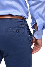 modré chinos nohavice nohavice e shop alaindelon sk