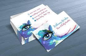 Printable Art Business | custom printable face painter business card template makeup