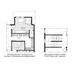 master bathroom floor plans with walk in closet the st michaels u2014 parkwood homes
