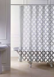 Bathtub Curtains Standard Shower Curtain Length Home Decorating Interior Design