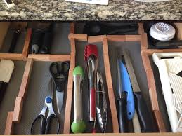 how to organize kitchen drawers diy fiestund kitchen drawer organizer