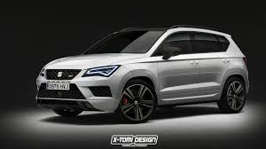 Seat Ateca Cupra Might Look Like This And Is Currently Under