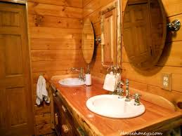 Log Home Decor Ideas Cabin Bathroom Ideascute Images About Log Home Bathroom Rustic