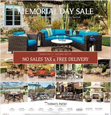 memorial day sale today u0027s patio furniture and decor san diego ca