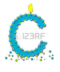 the letter m in the alphabet set birthday cake candle is aqua