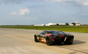 fastest ford fastest standing half mile hennessey ford gt breaks world record