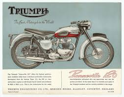the history of triumph motorcycles lowbrow customs tech