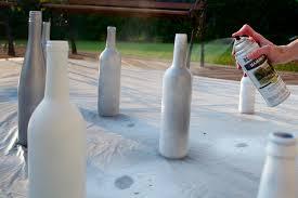 Diy Wine Bottle Vases Diy Silver Glitter Wine Bottle Vases Style Sidebar