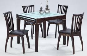 expandable glass dining table model house photos best
