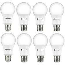 dimmable led light bulbs ecosmart a19 a460st q1d 01 40w equivalent dimmable led light bulb