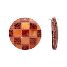 focal wood capiz shell resin mahogany tree seed