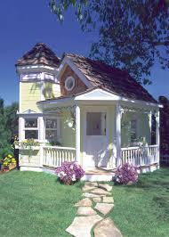 cottage homes build a beautiful playhouse hgtv