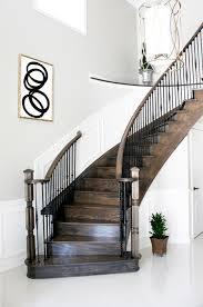 decoration astonishing dark brown wooden staircase wall design