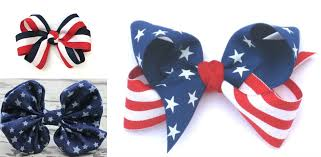 fourth of july hair bows fourth of july patriotic hairstyles hairstyles haircuts and