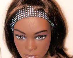 rhinestone headbands rhinestone headband etsy