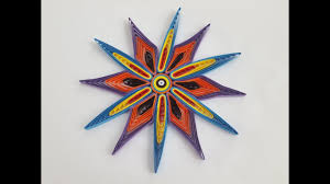 Flower Designs On Paper How To Make Beautiful Quilling Paper Design And Paper Quilling