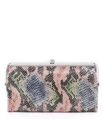 hobo original lauren snake wallet dillards