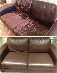 Refurbish Leather Sofa How To Paint Leather Furniture Leather Paint Furniture And