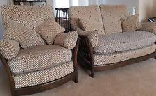 2 Seater Sofa And Armchair High Back Sofa Ebay