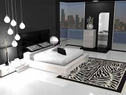 chambre noir et blanche déco chambre noir et argent exemples d aménagements