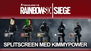 med siege rainbow six siege splitscreen med kimmypower 1