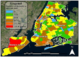 Zip Code Heat Map by Ijgi Free Full Text What Do New Yorkers Think About Impacts