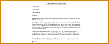 how to write a hardship letter for your mortgage company