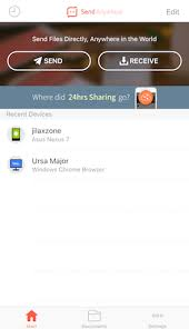 send files from android to iphone free app send anywhere hassle free way transfer files between