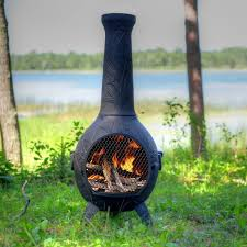 Best Type Of Chiminea Amazon Com The Blue Rooster Co Orchid Style Cast Aluminum Wood