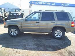 jeep grand 1995 limited 1995 jeep grand limited at alpine motors