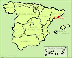 Spain Rail Map by Barcelona Maps Spain Maps Of Barcelona City