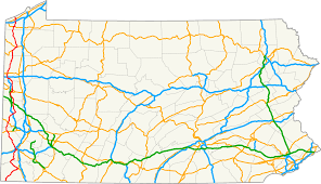 Pennsylvania State Parks Map by Pennsylvania Route 18 Wikipedia