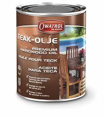 teak olje premium hardwood oil owatrol usa