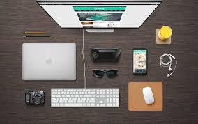furniture designer glass computer desk plus clipgoo